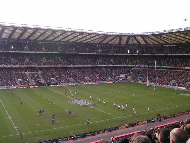 Twickenham match : Angleterre-France